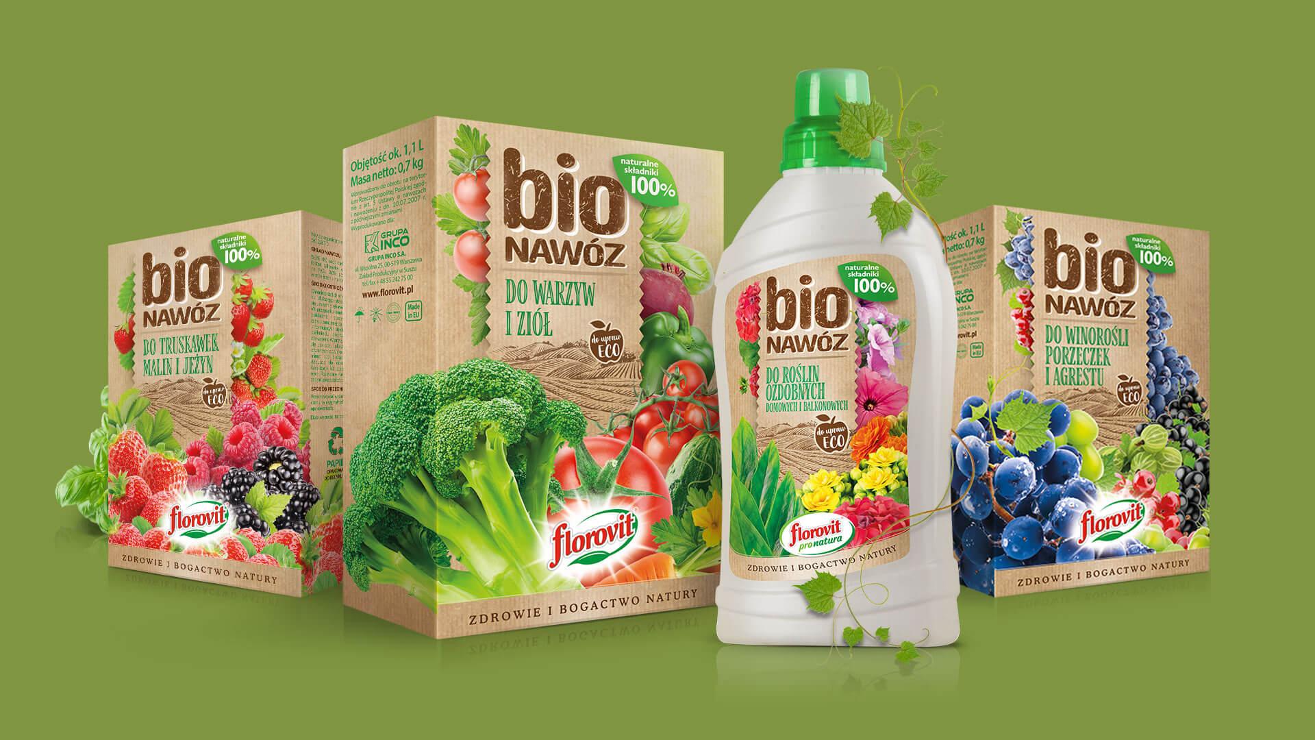 Kreacja wizerunku marki - BIO Nawóz