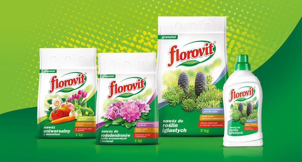Opracowanie wizerunku marki nawozów FLOROVIT - BraciStudio