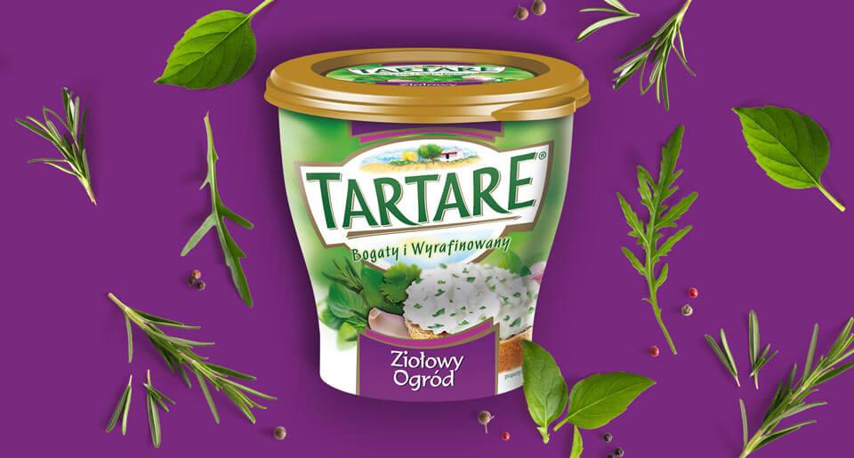 Rebranding opakowań Tartare - BraciStudio