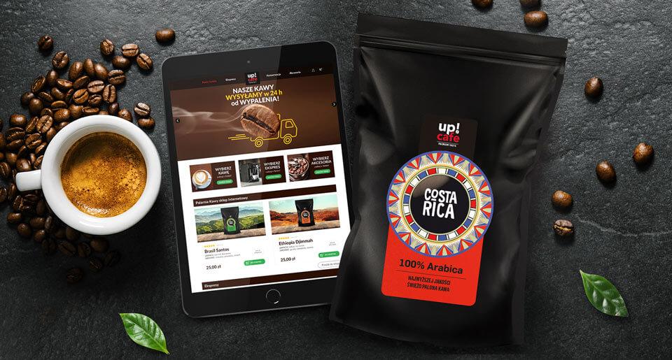 Stworzenie marki UpCafe - BraciStudio